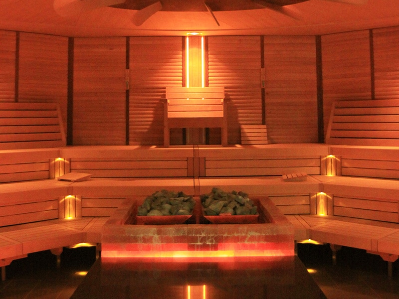 Panorama-Sauna in der Franken Therme Bad Windsheim